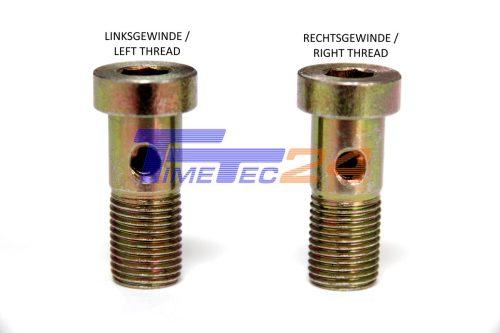 banjo bolt left-thread right-thread